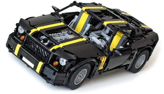 Nathanaël Kuipers Pony Car Instructions - LEGO Technic, Mindstorms ...